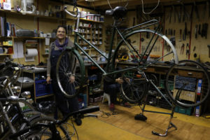 nieuwland workplaces bike repair workshop